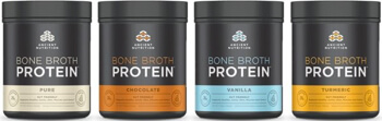 Ancient Nutrition Bone Broth Protein by Jordan Rubin and Dr Josh Axe