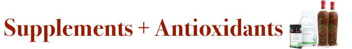 Young Living Supplements, Antioxidants and NingXia Red