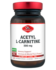 Olympian Labs Acetyl L-Carnitine  500 mg 60 Capsules