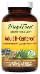 MegaFood Adult B-Centered  90 Tablets