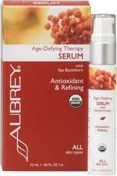 Aubrey Organics Age Defying Therapy Serum  .33 ounce