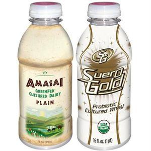 Beyond Organic Amasai and SueroGold Pack 2 Plain+Gold Flavor 16 oz Each 48 Bottles