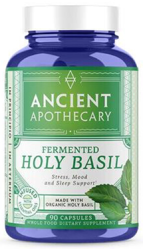 Ancient Nutrition Apothecary Holy Basil  90 Capsules