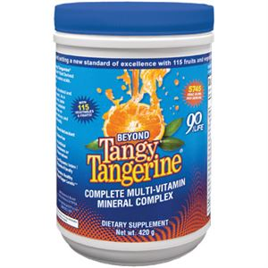 Youngevity Beyond Tangy Tangerine  420 gram Canister Free Ship Over $68
