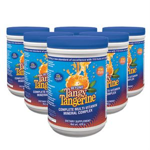 Youngevity Beyond Tangy Tangerine  6 of 420 gr canisters