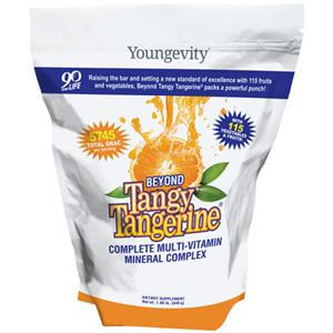 Youngevity Beyond Tangy Tangerine  840g Gusset Bag