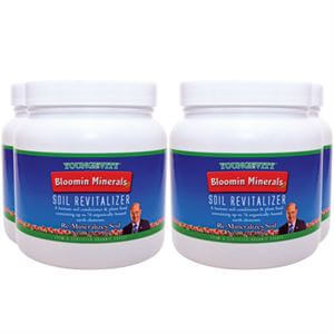 Youngevity Bloomin Minerals Soil Revitalizer   4 of 2.5 lbs 4 Pack