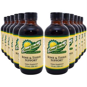 Good Herbs Bone and Tissue Support    4 oz 12 Pack