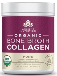 Ancient Nutrition Bone Broth Collagen Pure Organic 30 Servings