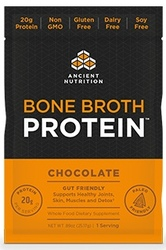 Ancient Nutrition Bone Broth Protein Chocolate Single Serving Pack
