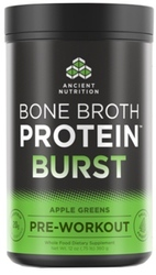 Ancient Nutrition Bone Broth Protein Burst  Apple Greens 30 Servings