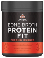 Ancient Nutrition Bone Broth Protein FIT Thermo Burner  20 Servings