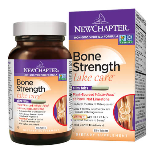 New Chapter Bone Strength Take Care  180 Slim Tablets