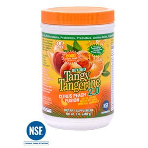 Youngevity BTT 2.0 Citrus Peach Fusion  480 gram Canister Free Ship Over $68