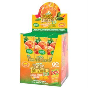 Youngevity BTT 2.0 Citrus Peach Fusion  30 ct box single servings