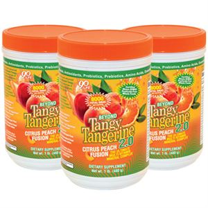 Youngevity BTT 2.0 Citrus Peach Fusion  3 of 480 gr canisters