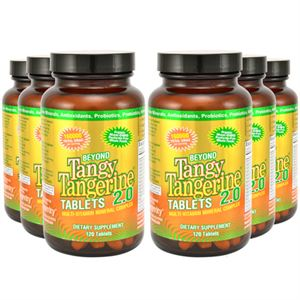 Youngevity BTT 2.0 Tablets  120 Tablets each 6 Pack