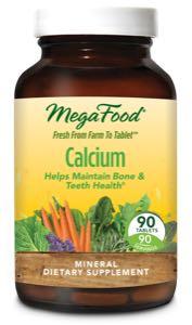 MegaFood Calcium  90 Tablets