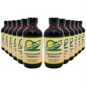 Good Herbs Circulatory Formula    4 oz 12 Pack