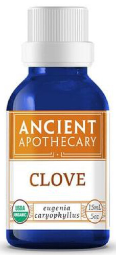 Ancient Nutrition Clove Organic 15 ML Essential Oil