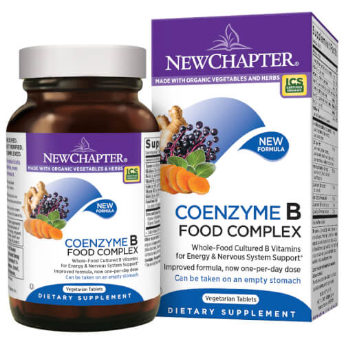 New Chapter Coenzyme B Food Complex One Daily  90 Tablets
