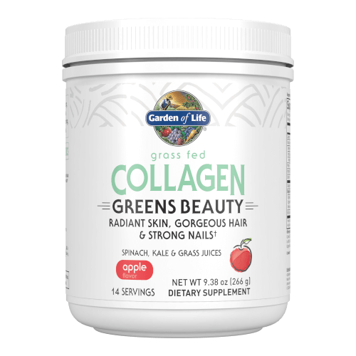 Garden of Life Collagen Beauty Greens Apple 14 Servings Powder