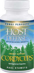 Host Defense Cordyceps  120 Capsules