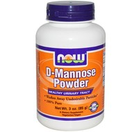 Now D-Mannose for Bladder Health  3 oz Bottle