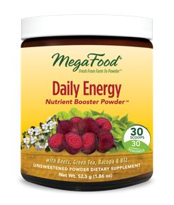 MegaFood Daily Energy  30 Day Nutrient Booster Pow