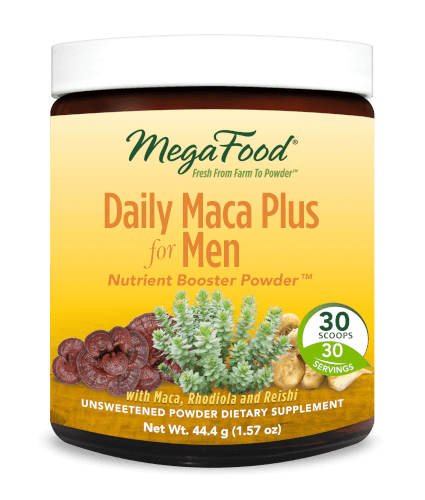 MegaFood Daily Maca Plus Men  30 Servings