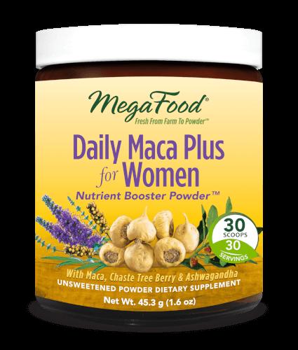 MegaFood Daily Maca Plus Women  30 Servings