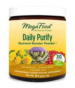 MegaFood Daily Purify  30 Day Nutrient Booster Pow