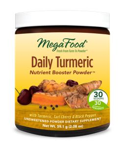 MegaFood Daily Turmeric  30 Day Nutrient Booster Pow