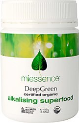 Miessence DeepGreen Alkalising Superfood  3.70 oz Powder