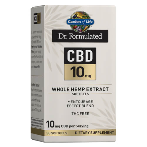 Garden of Life Dr Formulated CBD 10 mg 30 Softgels