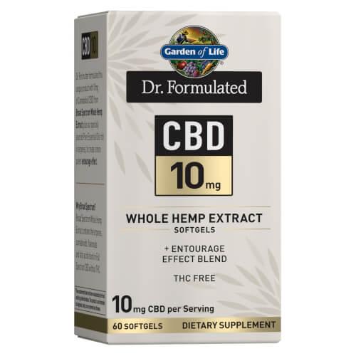 Garden of Life Dr Formulated CBD 10 mg 60 Softgels