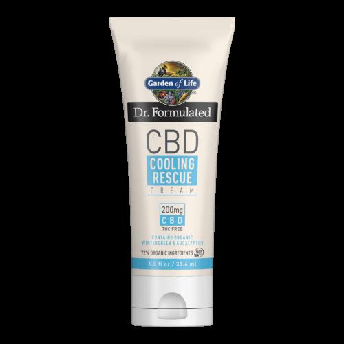 Garden of Life Dr Formulated CBD Cooling Rescue 1.3 fl oz Cream