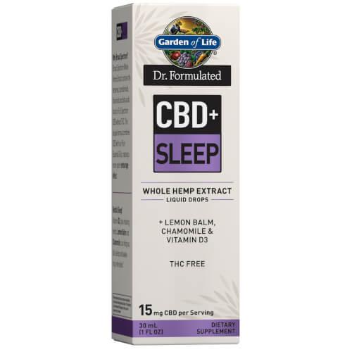 Garden of Life Dr Formulated CBD plus Sleep 15 mg Drops 1 oz