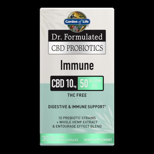 Garden of Life Dr Formulated CBD Probiotics Immune  30 Capsules