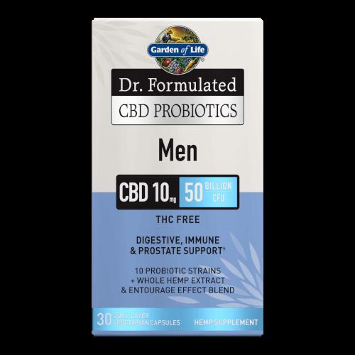 Garden of Life Dr Formulated CBD Probiotics Men  30 Capsules