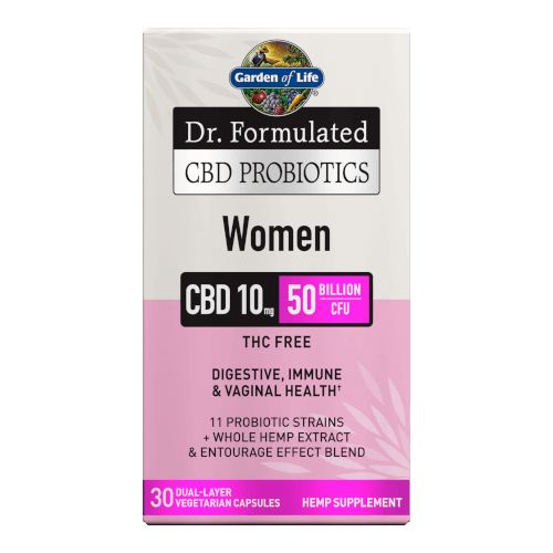 Garden of Life Dr Formulated CBD Probiotics Women  30 Capsules