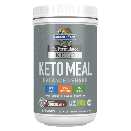 Garden of Life Dr Formulated Keto Meal Chocolate 24.69 oz Powder
