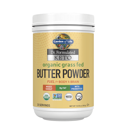 Garden of Life Dr Formulated Keto Organic Grass Fed Butter  10.58 oz Powder