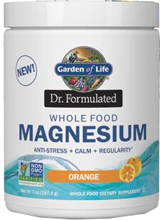 Garden of Life Dr Formulated Magnesium  Orange  14.8 oz Powder