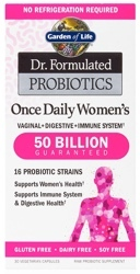 Garden of Life Dr Formulated Once Daily Womens  Shelf Stable 30 Capsules
