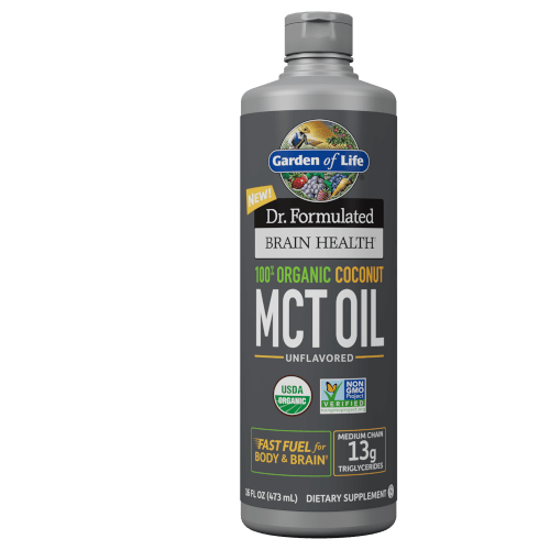 Garden of Life Dr Formulated Organic Coconut MCT Oil  16 oz Liquid