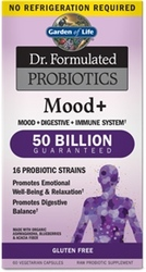 Garden of Life Dr Formulated Probiotics Mood Plus  Shelf Stable 60 Capsules