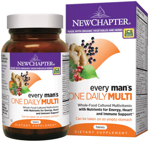 New Chapter Every Man One Daily  96 Tablets