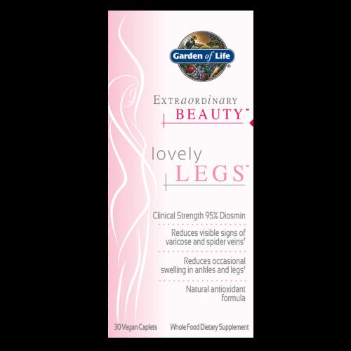 Garden of Life Extraordinary Beauty Lovely Legs  30 Caplets