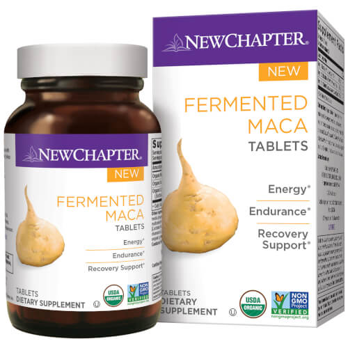 New Chapter Fermented Maca  96 Tablets